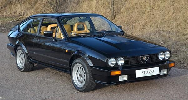 Cars that are going up in value Alfa Romeo Alfetta GTV6
