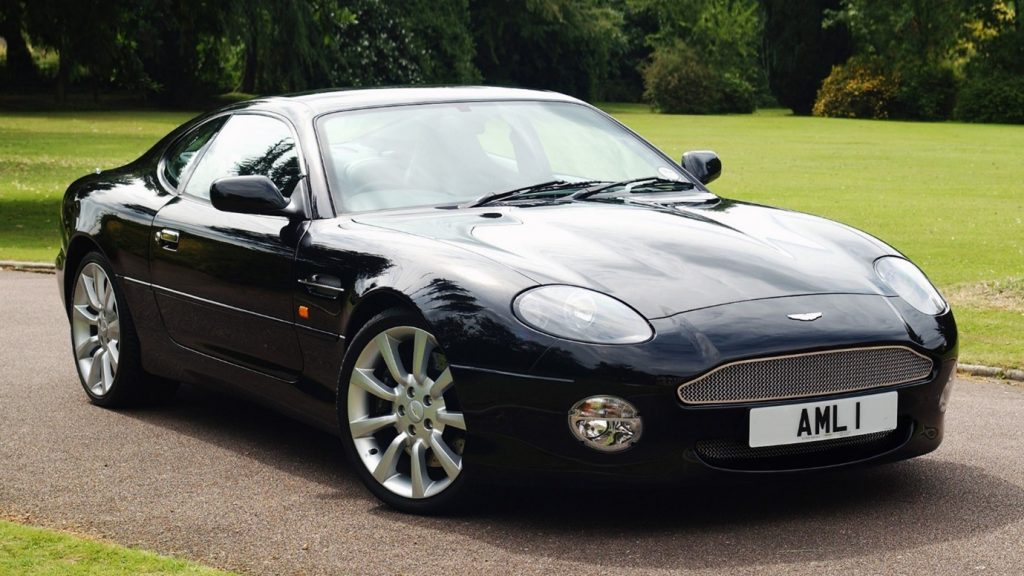 Cars that are going up in value Aston Martin DB7 Vantage