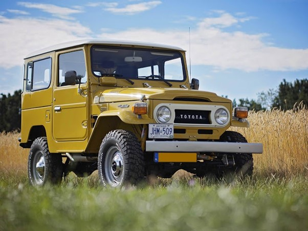 Cars that are going up in value FJ40 Landcruiser
